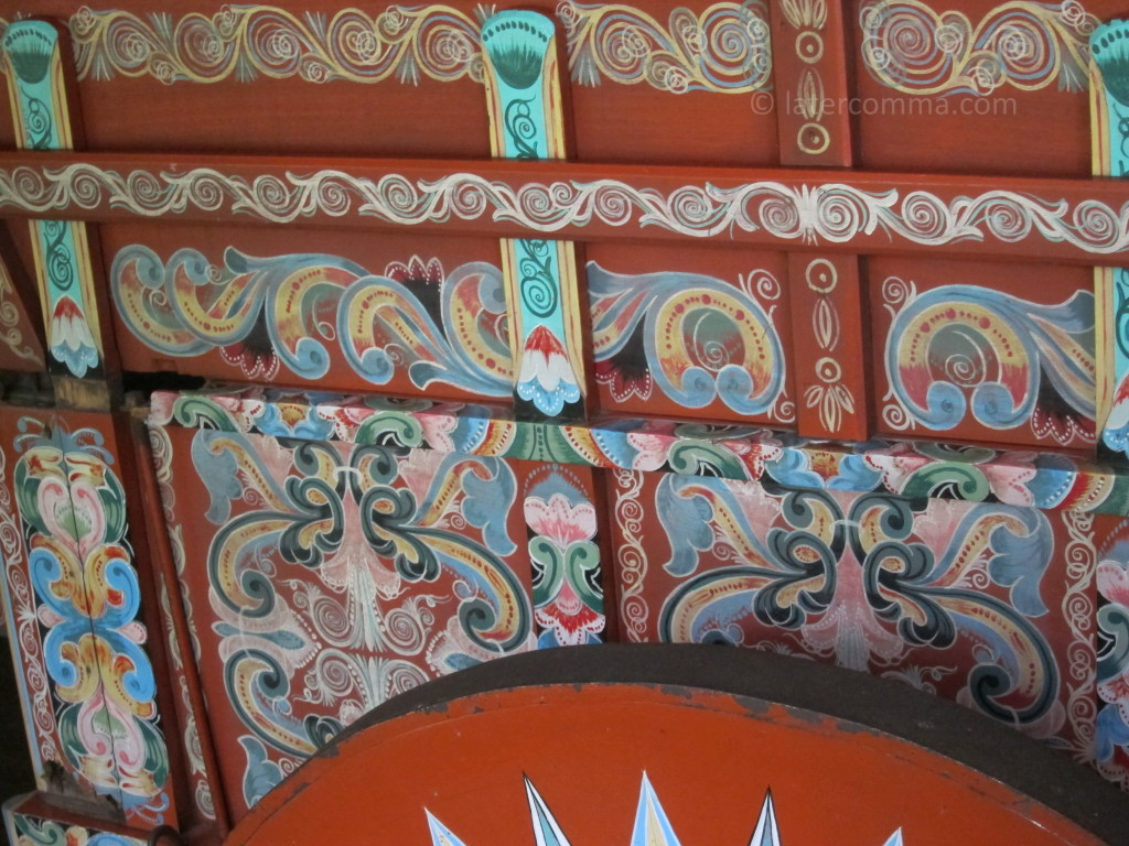 painted cart