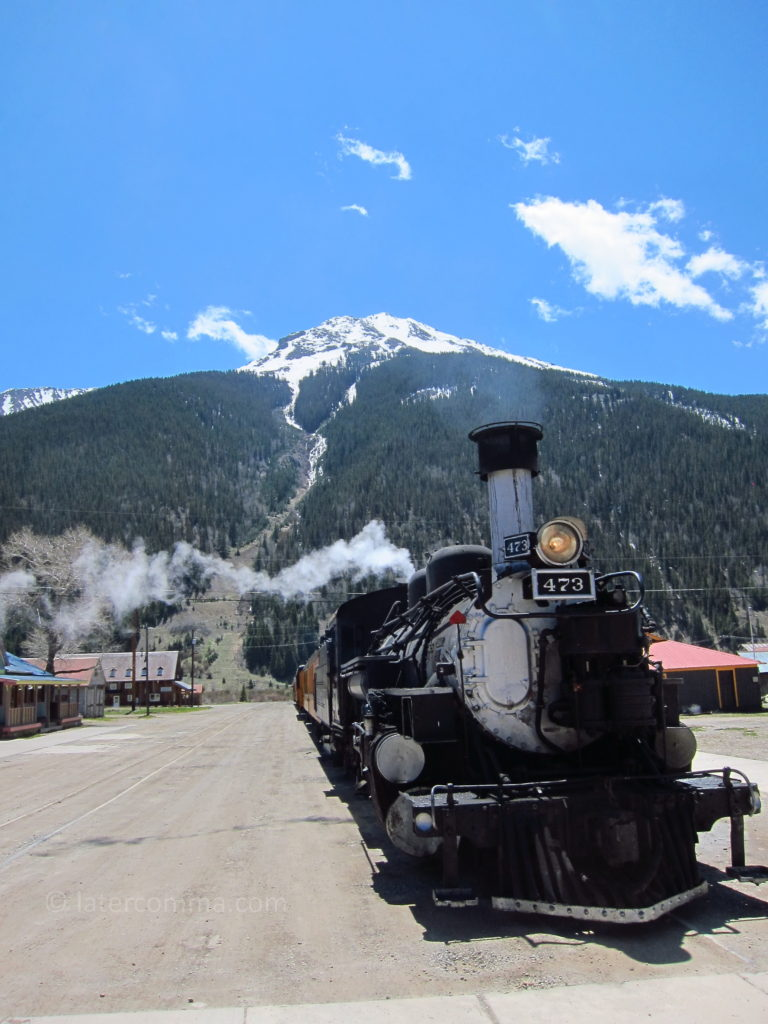Durango & Silverton Railroad, at Silverton