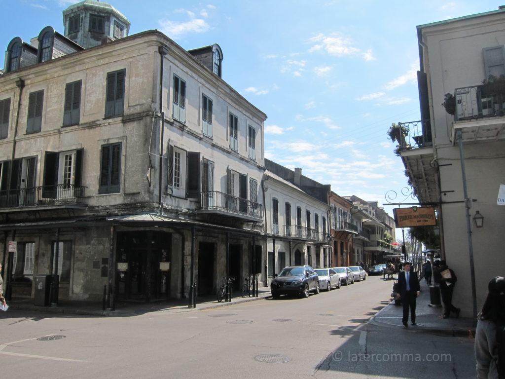 Napoleon House, Chartres Street.