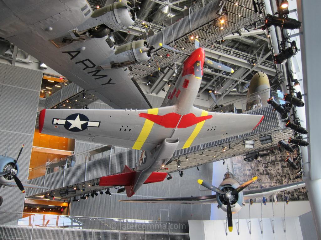 War planes, National World War II Museum.