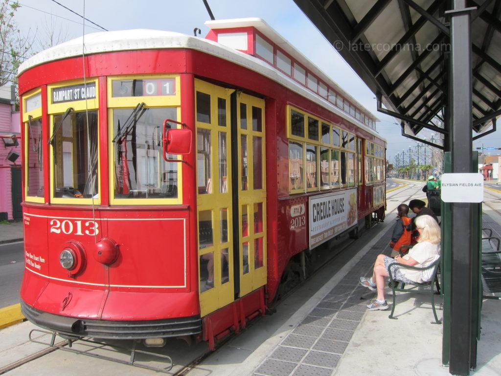 Rampart-St. Claude Streetcar.