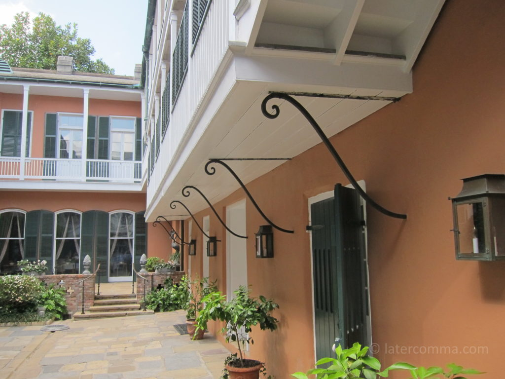Courtyard, Historic New Orleans Collection.