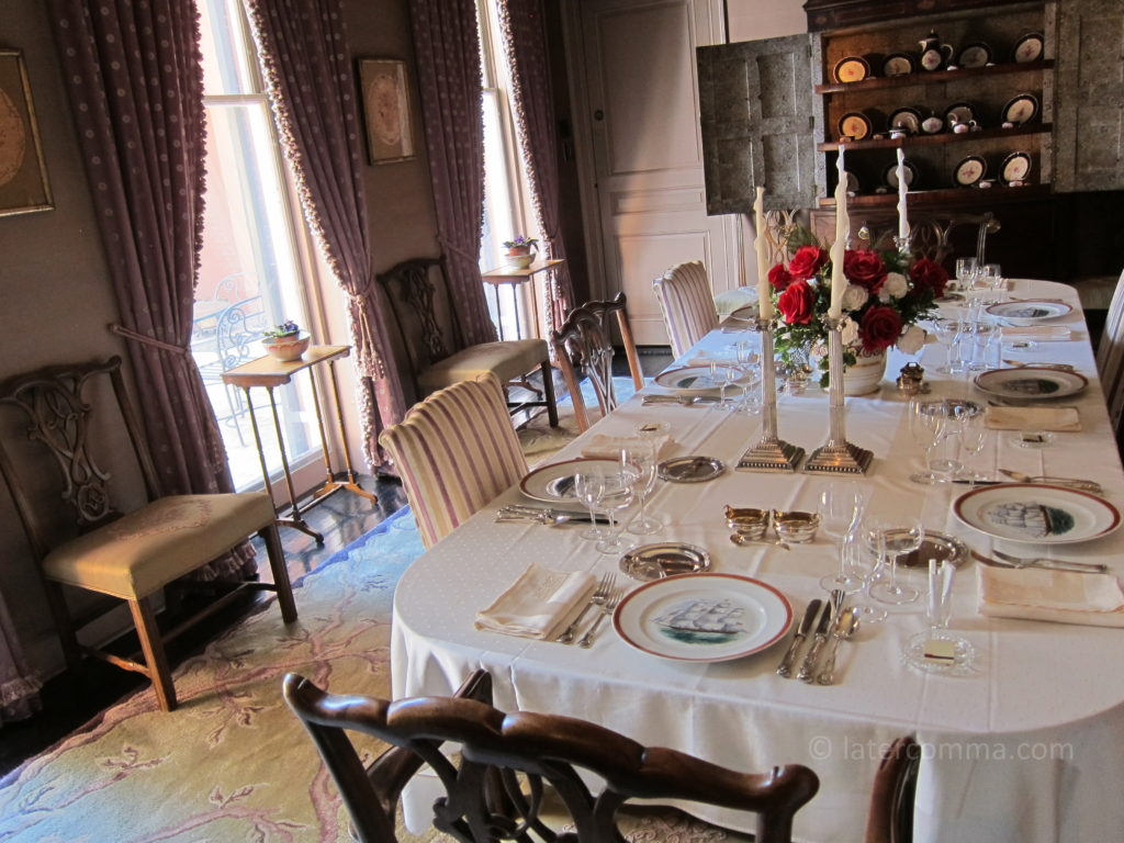 Dining room, Williams Residence.