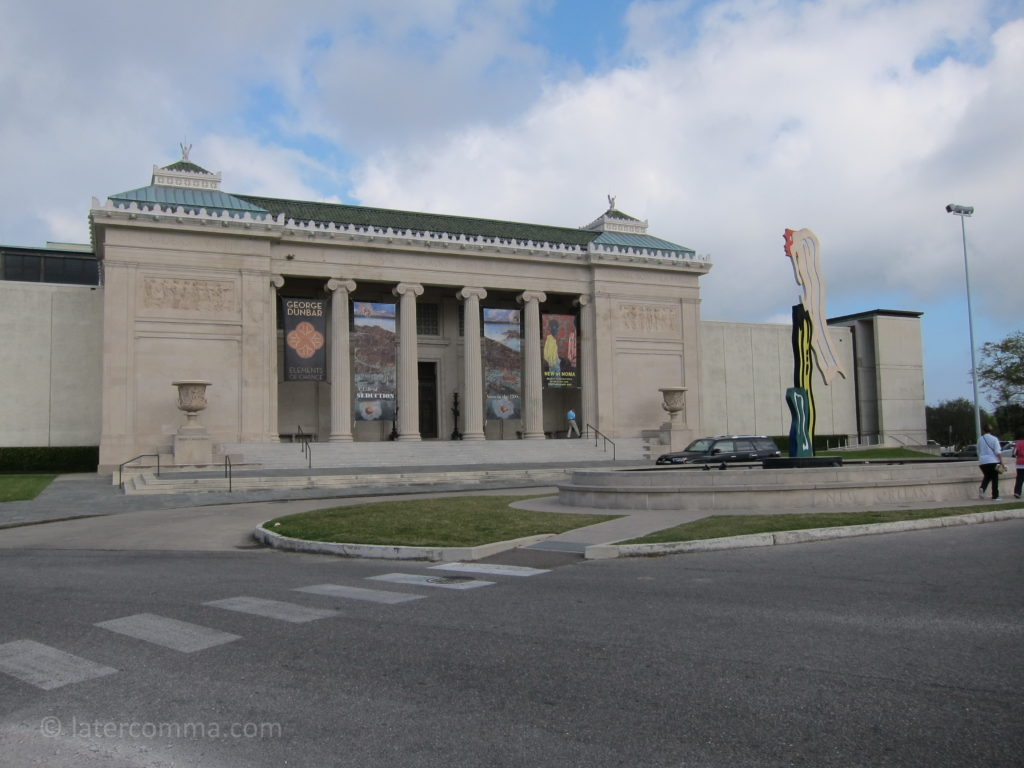 New Orleans Museum of Art.