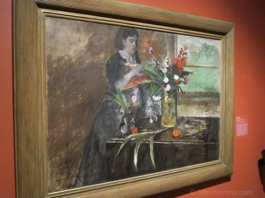 Painting by Edgar Degas, New Orleans Museum of Art.
