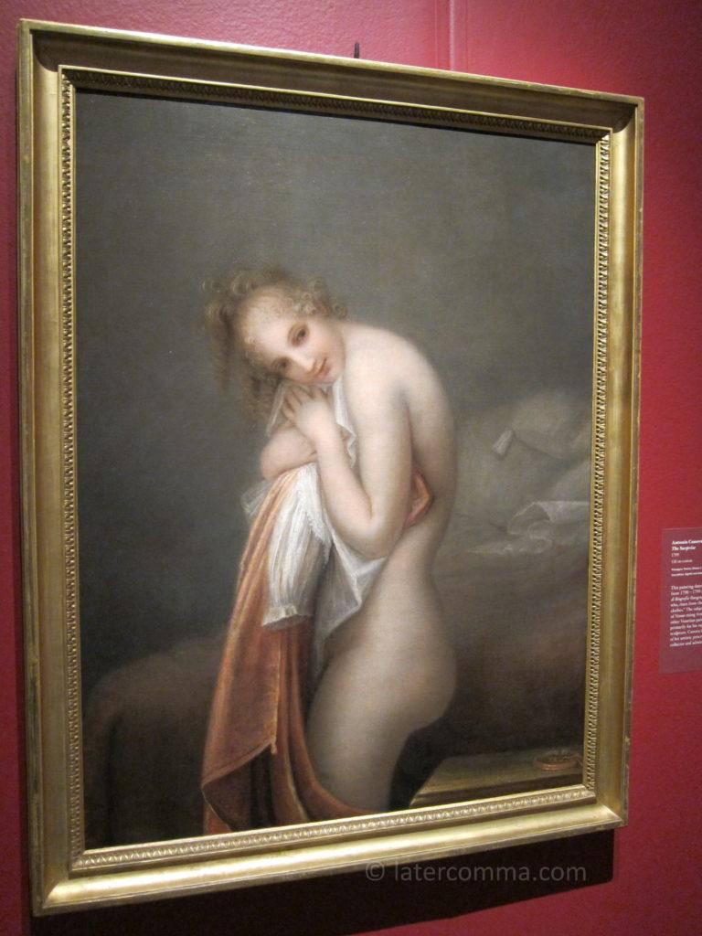 Painting by Antonio Canova.