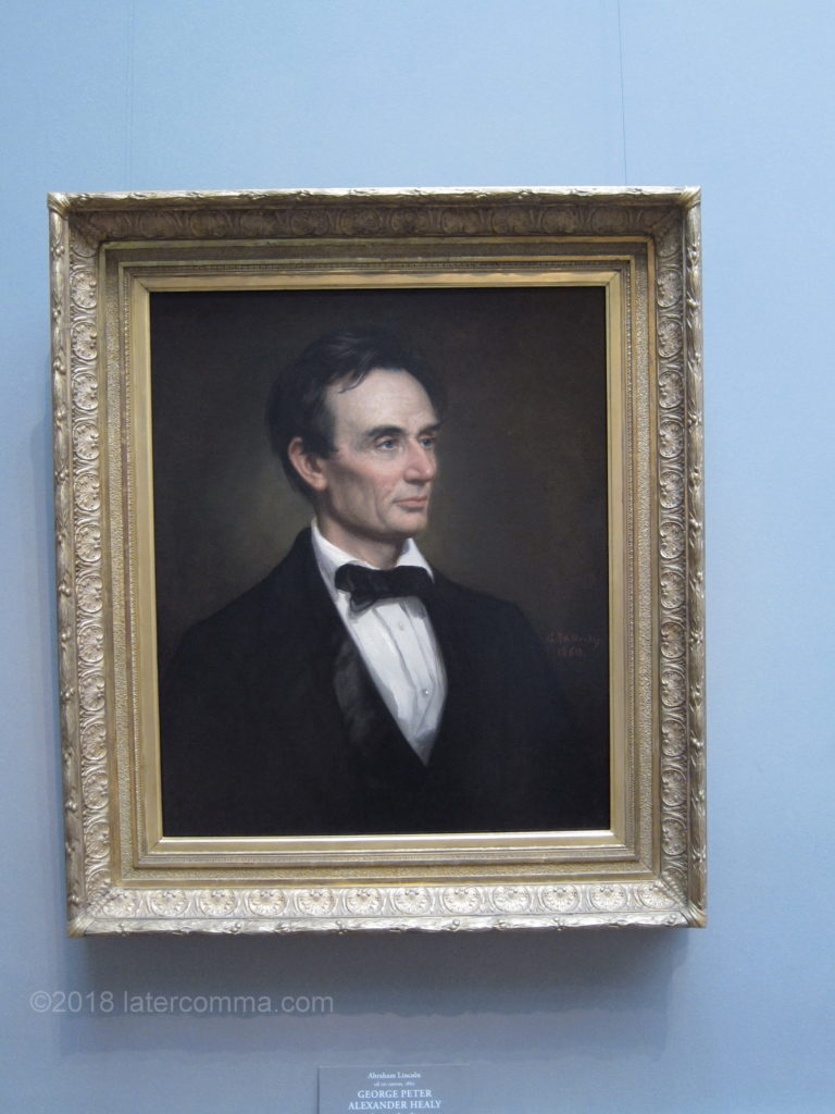 Lincoln Portrait, National Gallery