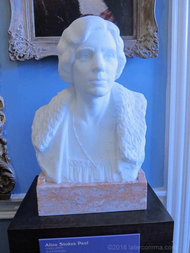 Alice Paul Bust, Sewall-Belmont House
